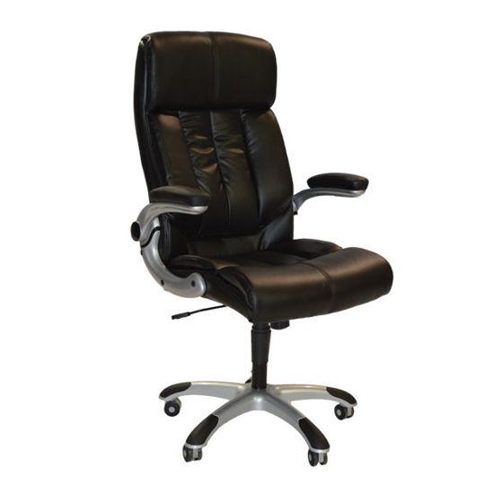 Εικόνα της Καρέκλα γραφείου HM1029.01 Διευθυντική PU SHINING BLACK