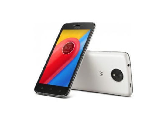 """Εικόνα της Motorola Moto C - Smartphone - Dual Sim 5"""" 8GB - Λευκό"""