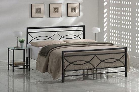 Εικόνα της  Monica Κρεβάτι Διπλό Μεταλλικό 140x190cm