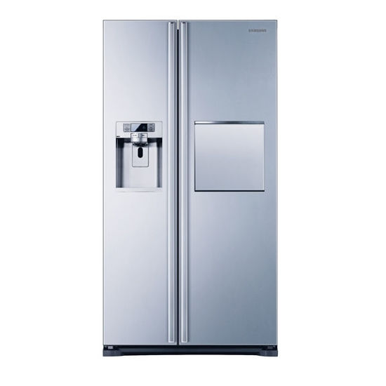 Εικόνα της Ψυγείο ντουλάπα Samsung RS61781GDSL Inox 615 lt