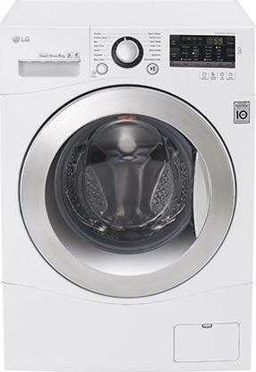 Εικόνα της Πλυντήριο ρούχων LG FH0A8TDN2  TurboWash 8kg, A+++-40%