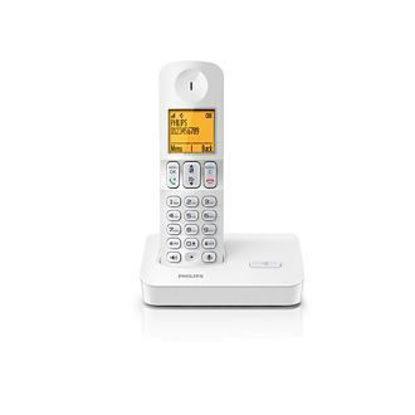Εικόνα της Ασύρματο τηλέφωνο Philips D4001W
