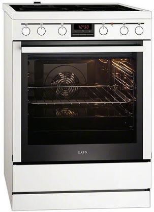 Εικόνα της Κουζίνα AEG 347056V-wn Κεραμική λευκή 74Lt