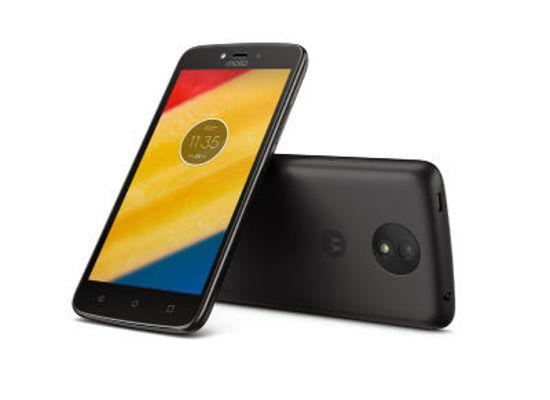 """Εικόνα της Motorola Moto C - Smartphone - Dual Sim 5"""" 8GB - Μαύρο"""