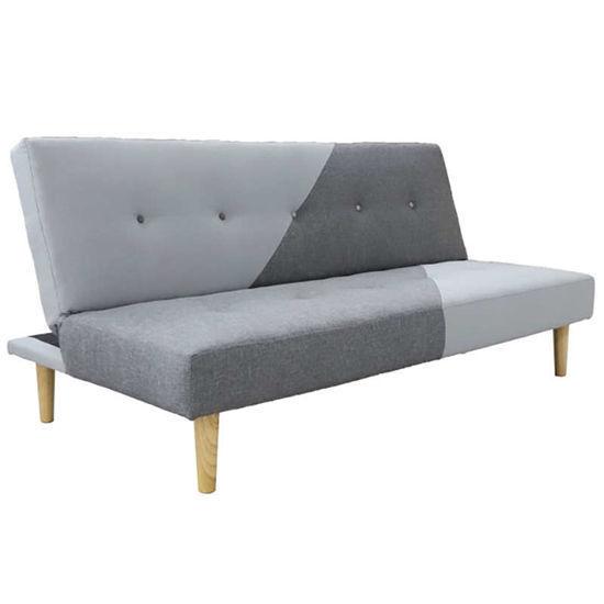 Εικόνα της Καναπές κρεβάτι Anita 3θέσιος ύφασμα 179Χ88Χ79