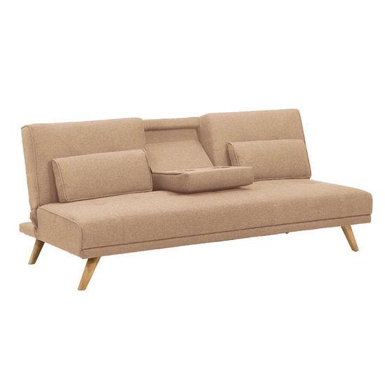 Εικόνα της Καναπές κρεβάτι Elton 3θέσιος ύφασμα 181X86X78